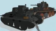 38(t)戦車G型【MMDモデル配布】