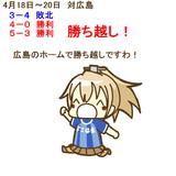 4月18日~20日 広島戦