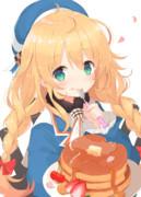 ロリ愛宕ちゃんとぱんぱかパンケーキ