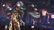 【MMD】TDA式洛天依金糸雀チャイナドレスver.羽衣翅で『トキヲ・ファンカ』02