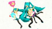 三姉妹達と!