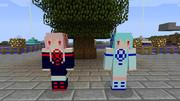 [Minecraft]琴葉茜&葵スキン[配布]