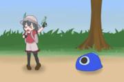 かばんちゃんの海水鉄砲(AnimeEffects)
