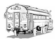 国鉄車流用型村営バス