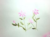 昔描いた花