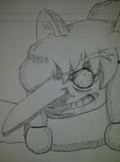 アルパカちゃんを描いてみました