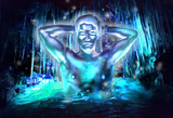 氷穴の精霊と化した先輩