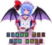 Nsen5週年記念レミリア!(背景なし版)