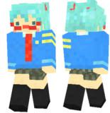 【Minecraft】初音ミク の スキンサンプル【ディープスカイ】