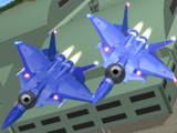 【MMDモデル配布】飛行型セルリアン_戦闘型_イーグルプラス