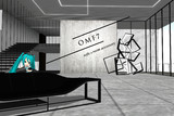 【OMF7】ソファアクセサリ+階段部屋type2