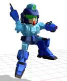 【MMD-OMF7】ロックマン体型のBD1モデル