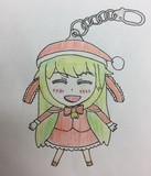 ゴボウ☆の雛サンタ役をしたMRG姉貴のラバーストラップ