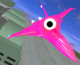 【MMD-OMF7】飛行型_赤いセルリアン
