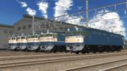 【モデル配布】EF65型電気機関車(国鉄仕様)セット【MMD鉄道】