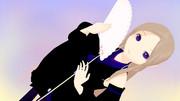 【MMD-OMF7】桜扇(配布)