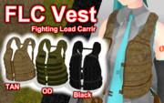 FLC Vest 【MMDモデル配布】