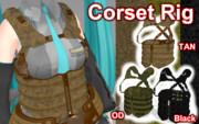 Corset Rig ver1.1【MMDモデル配布】