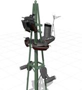 【MMD-OMF7】占守型艤装セット【モデル配布】