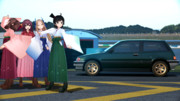 松風(艦これ)の愛車