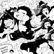 ルフィ誕生祝
