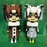レゴで博士と助手をつくったよー!
