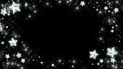 星のフレーム(背景)