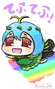 ぷちます風 例の蝶の子
