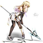 オリジナル 非力な白騎士アリシア