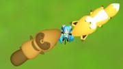 タヌキとキツネと謎ちゃん しょの2