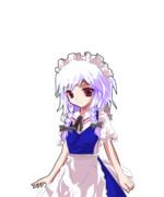 咲夜の仮装(れもぷと製)