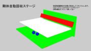 [MMD-OMF7]剛体自動回収ステージ