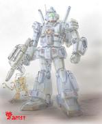 戦闘MS「陸戦型ジム・ブルーゲイル」