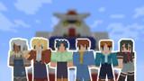 【Minecraftスキン】 ガンダムキャラクター その1