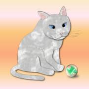 猫とビー玉