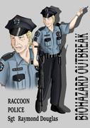 ラクーン警察署署員レイモンド・ダグラス巡査部長