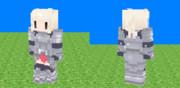 [Minecraft] シロサイ [スキン]