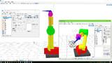6軸ロボットアーム構造サンプルモデル【OMF7】