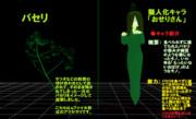 【MMD-OMF7】パセリ&擬人化キャラ「おせりさん」