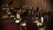 【MMD-OMF7】蹄椅子とテーブルセット