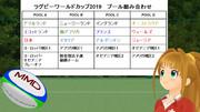ラグビーW杯2019日本大会、プール組分け決定!(&ボール更新)