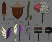 武器デザイン色々