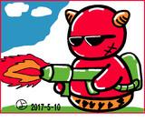 ウェザーニュース、ソライブ美術館5月10日分:お題「BBQ」