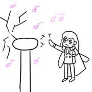 テスラコイルで演奏するテスラ