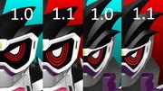 【更新】仮面ライダーゲンム セット1.1【MMDモデル配布】