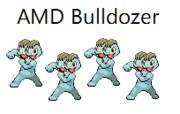 ポケモンで表現するAMD Bulldozerマイクロアーキテクチャ
