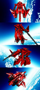 "【MMDオリメカ】 Vector Diver rev1.9x "" Scarlet Knife"""