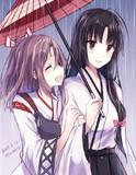雨の日の軽空母姉妹
