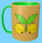 スズメ(鈴と芽)のマグカップ