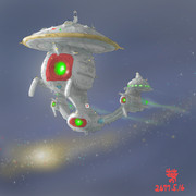 深宇宙探査MS「INSF-SCYS-10620-瑞鳳」